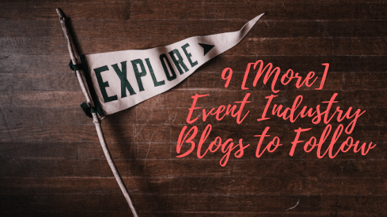 event industry blogs