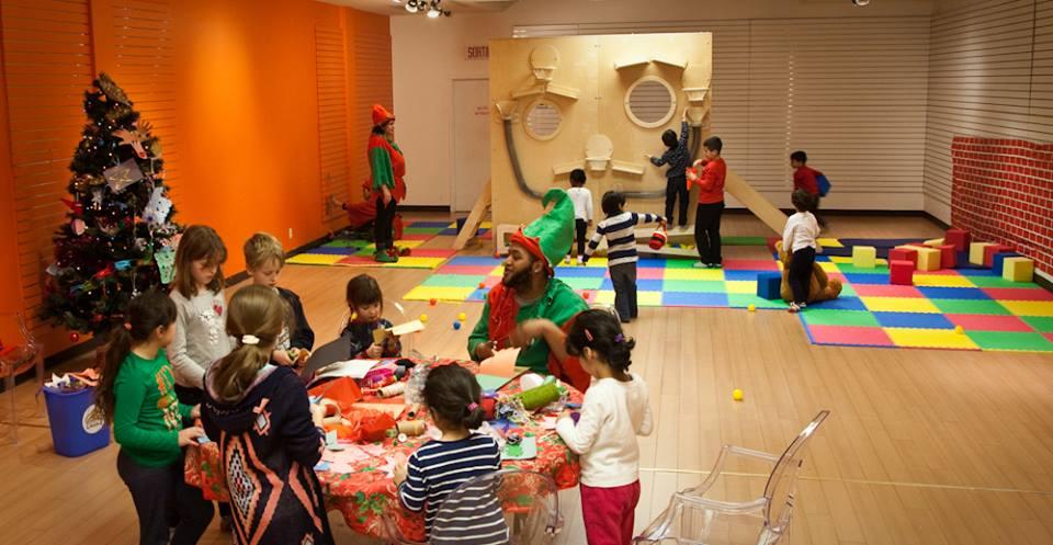 детская зона на мероприятии